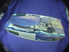 British WW2 Battlecruiser REPULSE